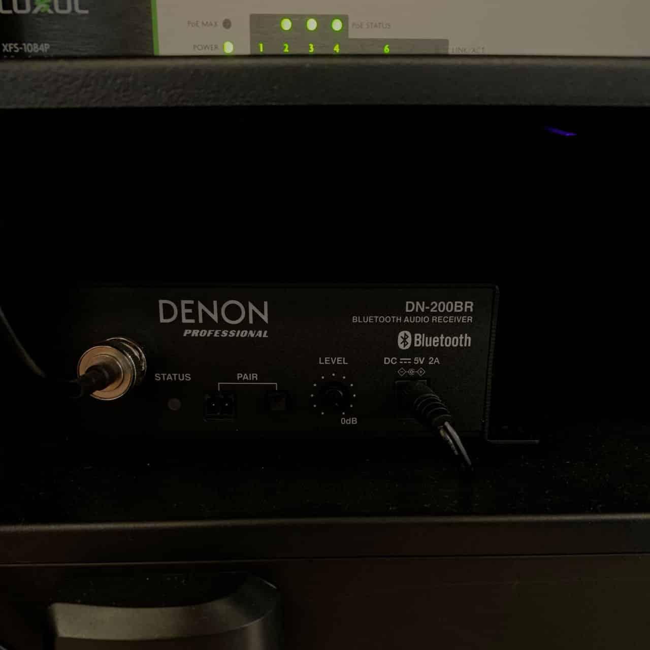 Denon Bluetooth Receiver