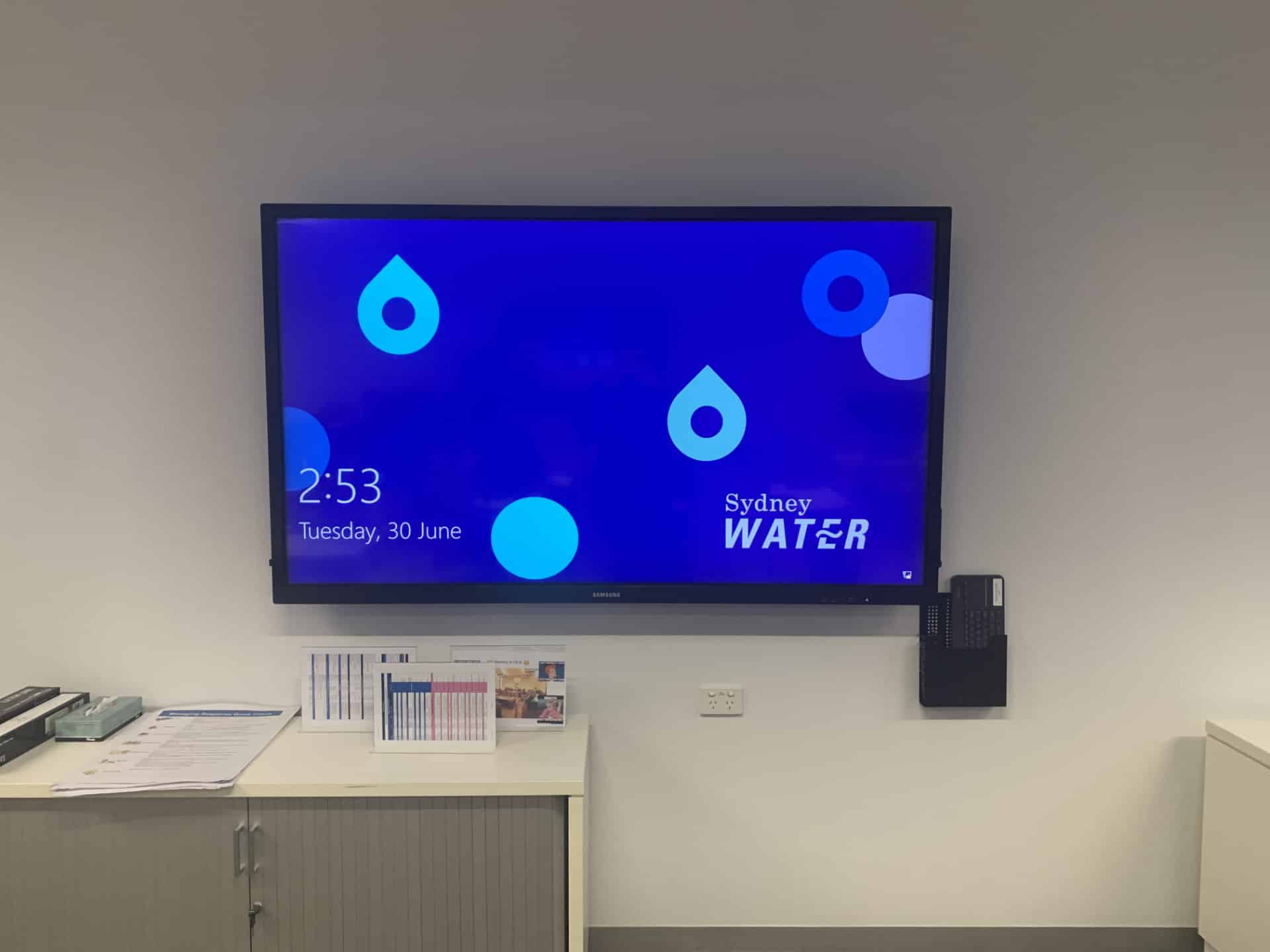 TV for Sydney Water