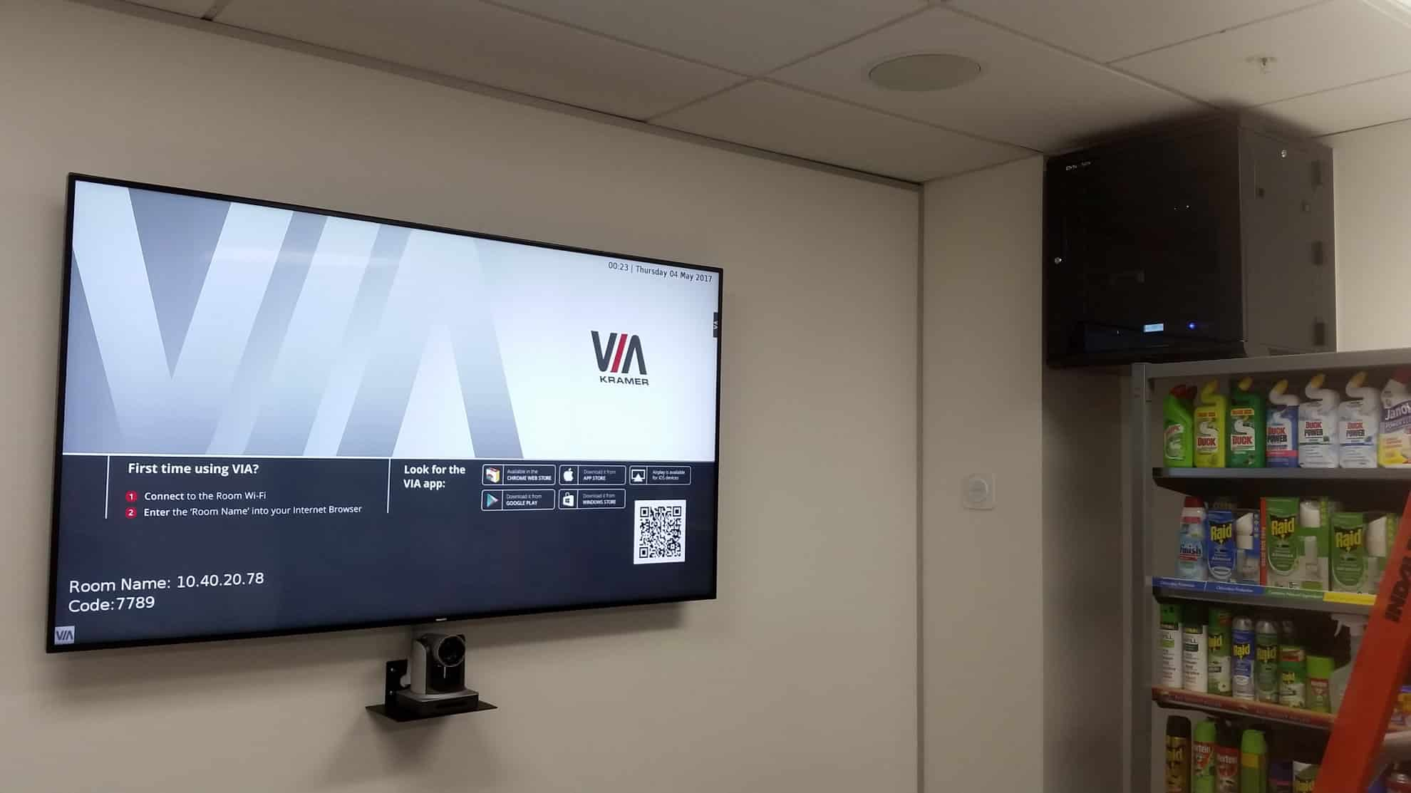 Video Conference Screen and Software