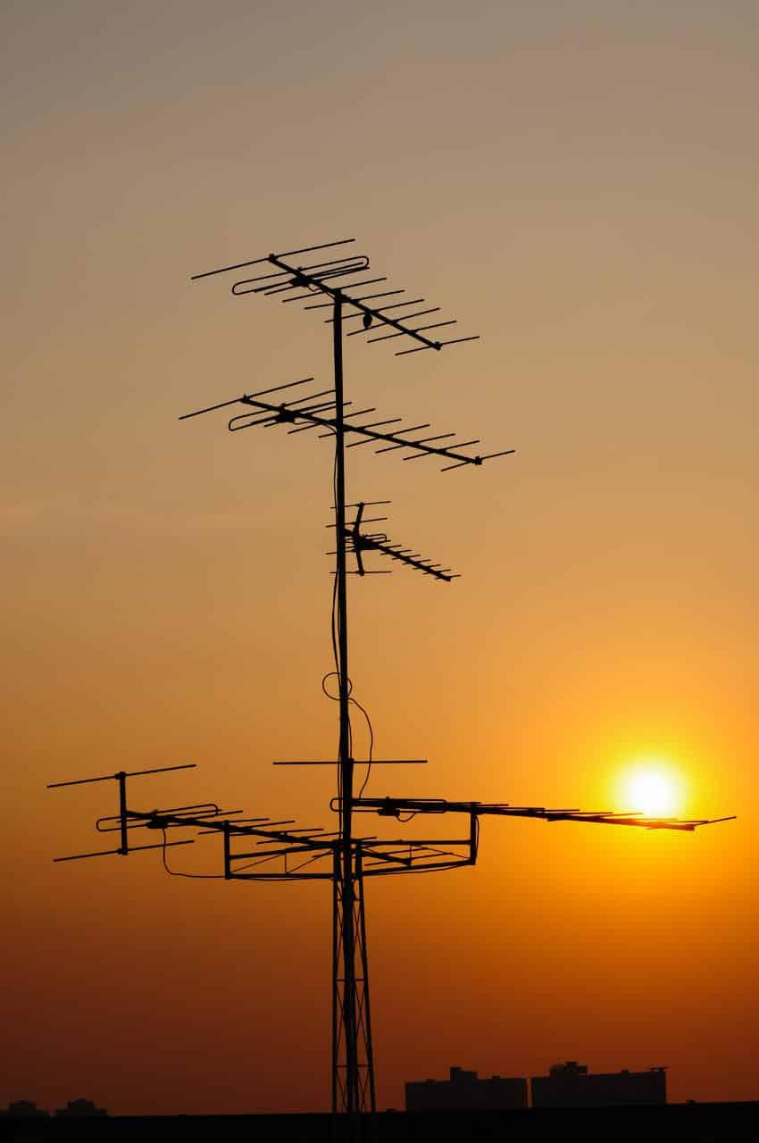 Sunset antenna