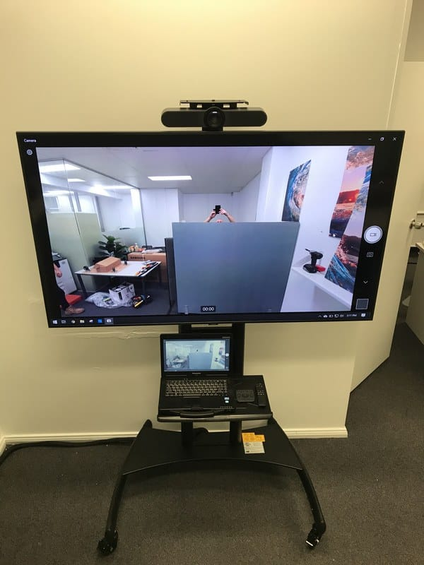 Video Conference Trolley